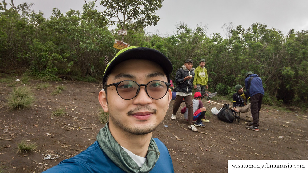 Suasana di Pos 2 Gunung Buthak