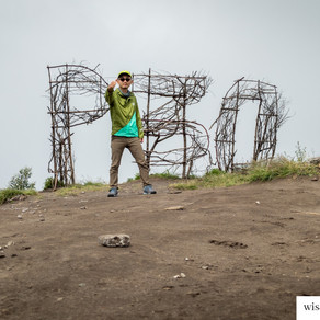 Menatap Gunung Bromo dari P30