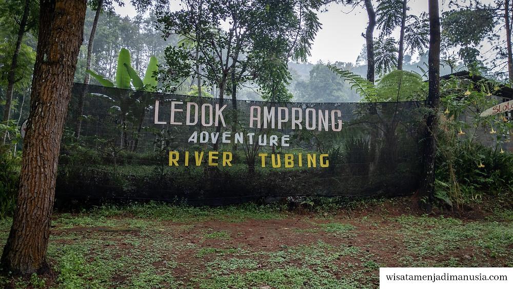 Spot Berfoto Bersama di Ledok Amprong