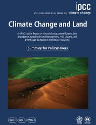 IPCC report on Climate Change and Land Use