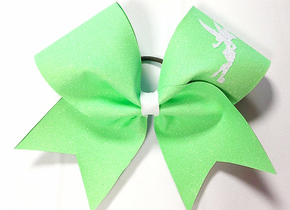 Tinkerbell Bow in Neon Green