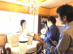プロモーションビデオ撮影風景2016