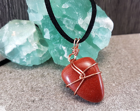 Radiant Energy, Sandstone Gemstone Necklace
