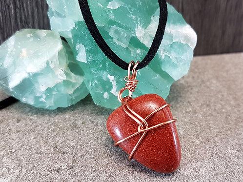 Radiant Energy, Sandstone Gemstone Necklace
