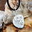 Thumbnail: Tranquil Thoughts, Howlite Gemstone Necklace