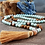 Thumbnail: Empowered Energy, Amazonite, Peach Moonstone & Yellow Jasper Gemstone Mala