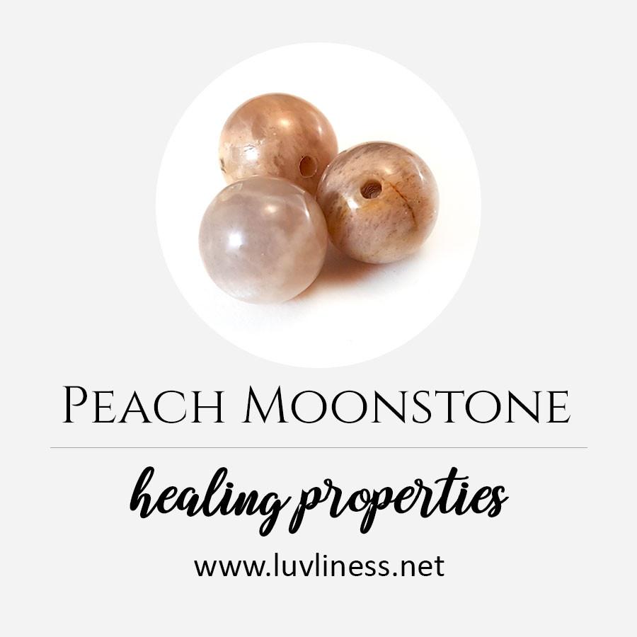 Peach Moonstone
