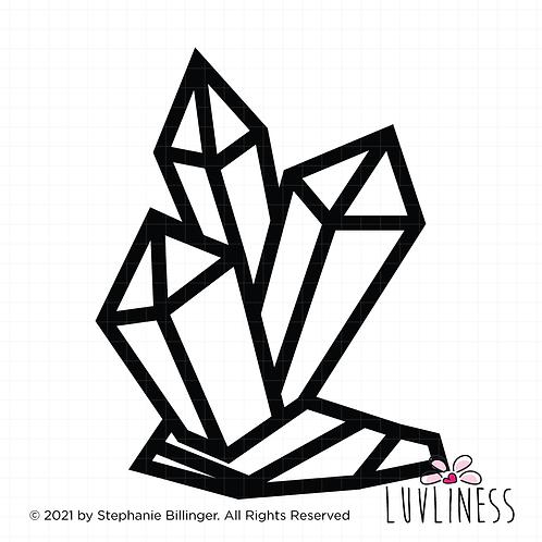 Crystal SVG PNG EPS Digital Download