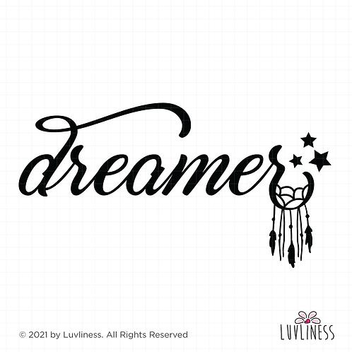 Dreamer SVG PNG EPS Digital Download