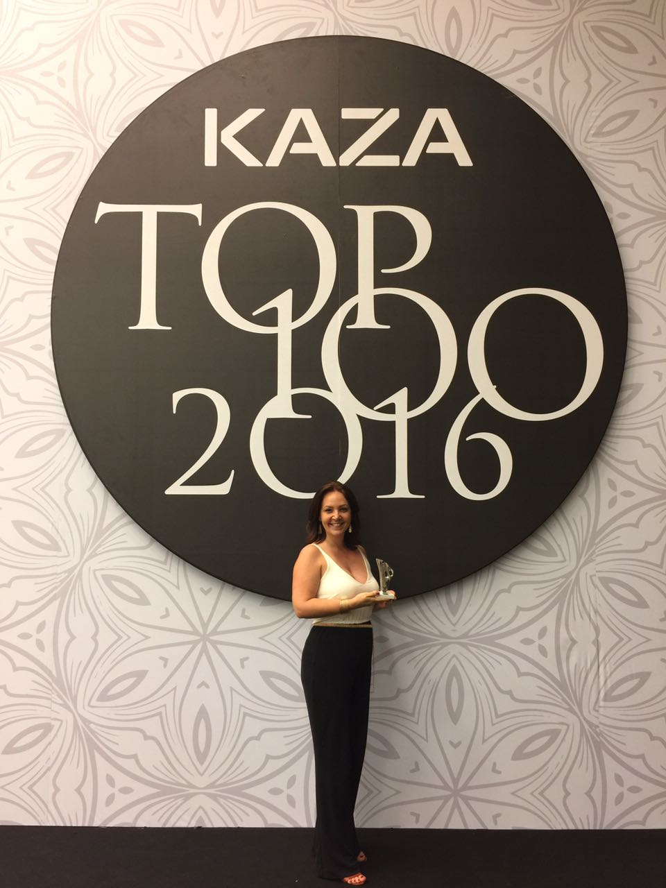 Premiação Top 100 Kaza