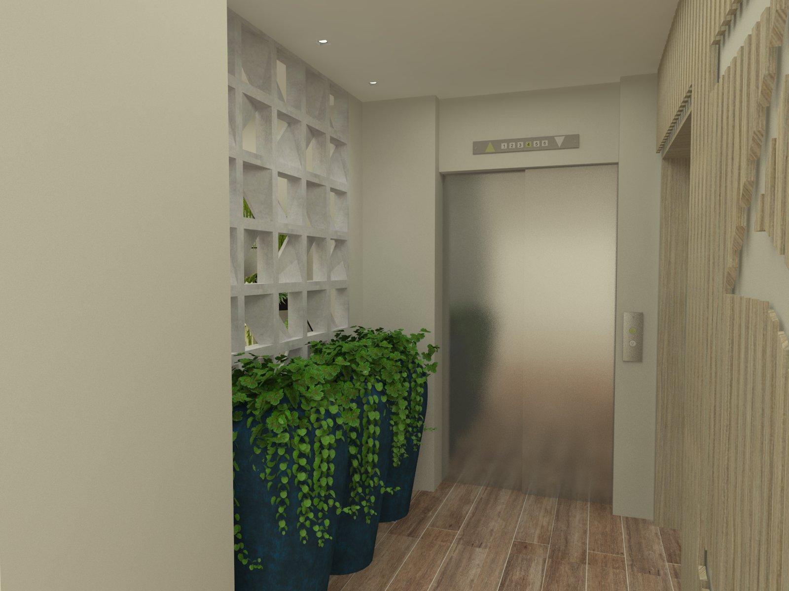Hall do elevador 01