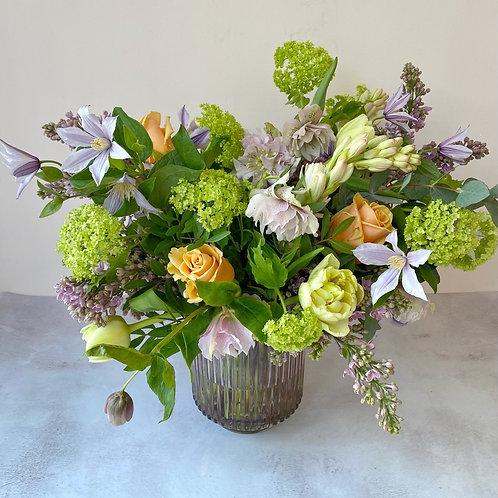 Pastel Bloom Vase