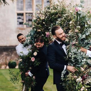 Elmore Court Wedding Florist jpg