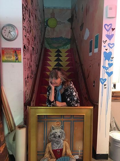 Ana queen dog stairs.JPG.jpg