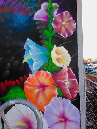 Hollyhocks front mural.jpg