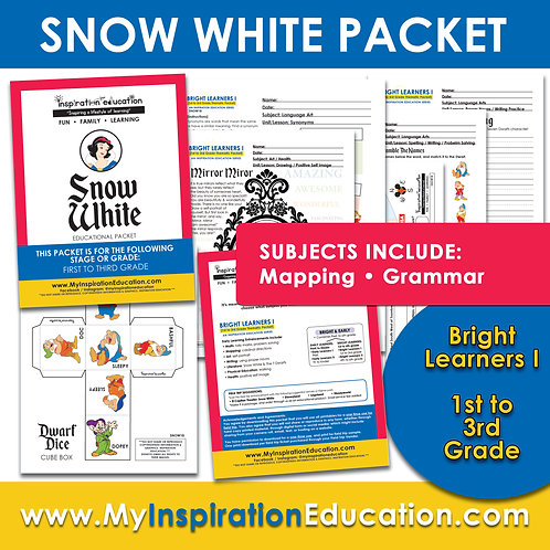 Snow White Thematic Packet (1st to 3rd)