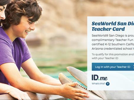 Free SeaWorld Field Trips For Teachers 2020