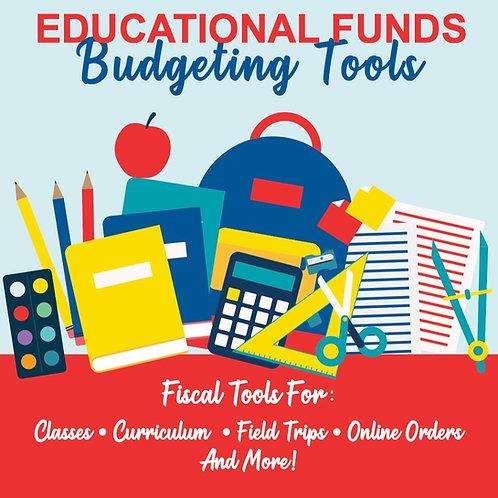 Homeschool Budgeting Tools