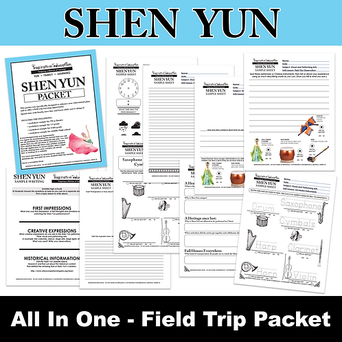 Shen Yun Packet (All In One)