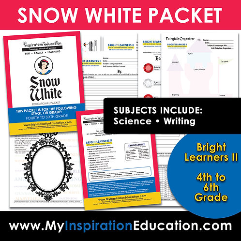 Snow White Thematic Packet (4th to 6th)