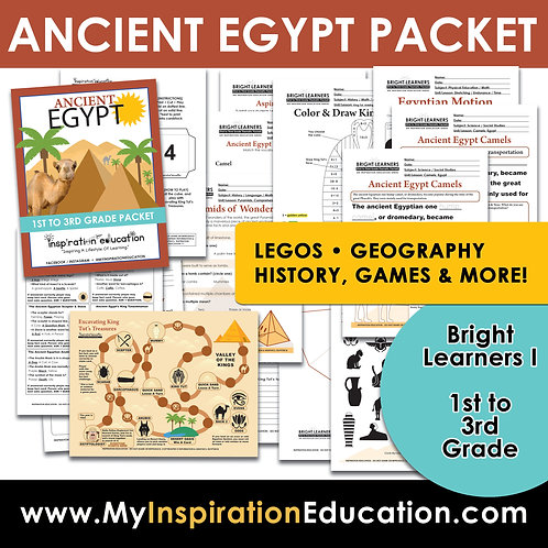 Ancient Egypt Full Thematic Packet (1st to 3rd)