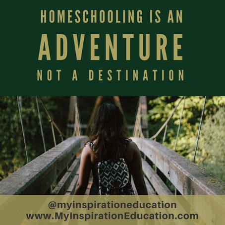 Homeschooling Is An Adventure