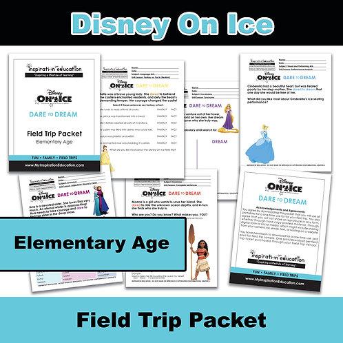Disney On Ice Field Trip Packet (Elementary)