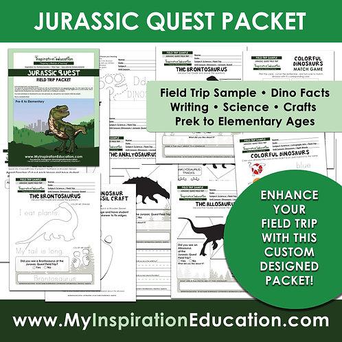 Jurassic Quest Field Trip Packet