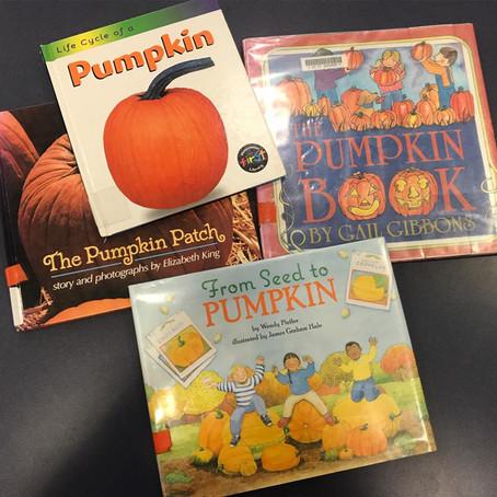 3 Pumpkin Themed Book Suggestions