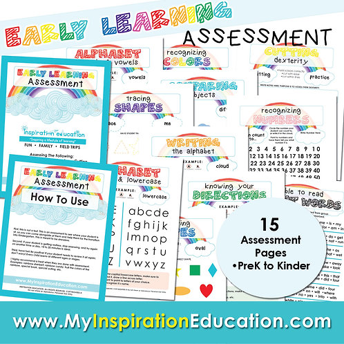 Early Learning Assessment (PreK to Kinder)