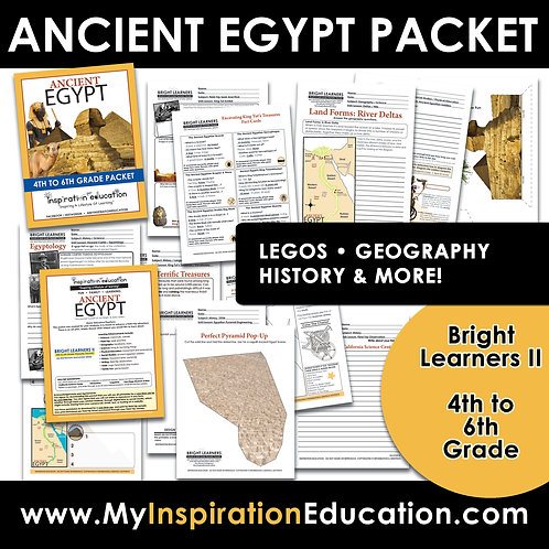 Ancient Egypt Full Thematic Packet (4th to 6th)