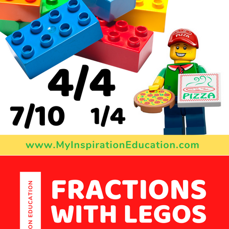 Fractions with Legos & Pizza