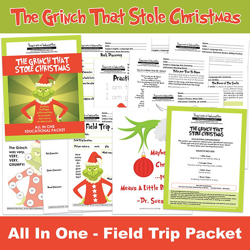 The Grinch That Stole Christmas (Field Trip Packet)