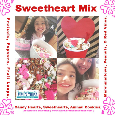 Valentine's Mix & Learning Inspiration