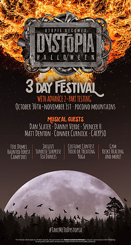 Dystopia Halloween 3 Day Festival