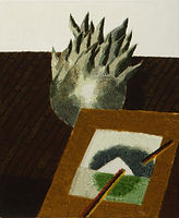 얇은 역사-부분9, watercolor on canvas, 가변크기(각 45.5 x 38 또는 45.5 x 33.5 cm), 2015