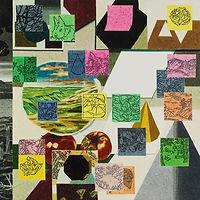 잊기 위한 기록들, watercolor on canvas, 100 x 100 cm, 2017