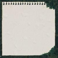 비어있는 종이, watercolor on canvas, 20 x 20 cm, 2017