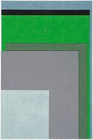 작고 큰 목소리, watercolor on canvas, 194x130.3cm, 2018