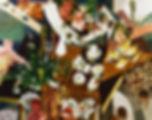 느슨하지만 선명한(부딪힌 상황들), watercolor on canvas, 181.8 x 227.3 cm, 2015