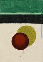 빨간 공, watercolor on canvas, 26 x 18 cm, 2016