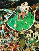 의도된 풍경, watercolor on canvas,  145.5 x 112.1 cm, 2013