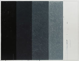 검은색 흰색, watercolor on canvas, 112x145.5cm, 2018