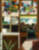 모든 것과 아무것도, watercolor on canvas, 116.8 x 91 cm, 2017