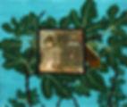 푸른 기침, watercolor on canvas, 53 x 45.5 cm, 2016