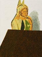 얇은 역사-부분4, watercolor on canvas, 가변크기(각 45.5 x 38 또는 45.5 x 33.5 cm), 2015