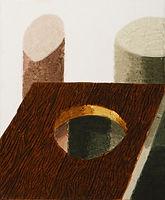 얇은 역사-부분6, watercolor on canvas, 가변크기(각 45.5 x 38 또는 45.5 x 33.5 cm), 2015