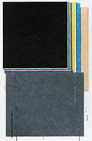 모서리 그림자, 2018, watercolor on canvas, 117x80.3cm