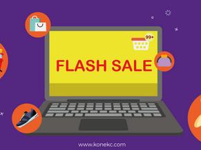 Flash Sale E-commerce Tiap Bulan, Untungkah?