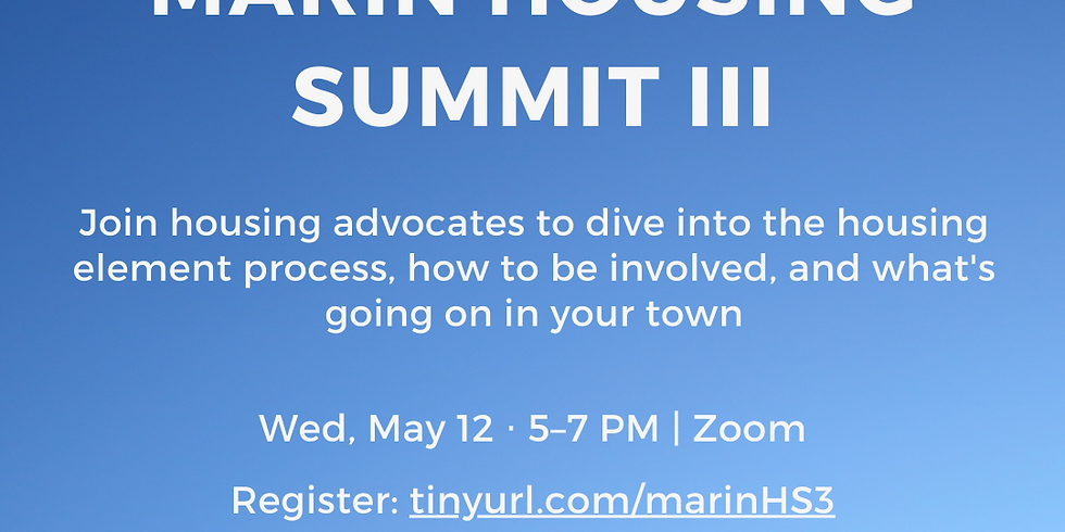 """Housing Summit III: """"How to Make Housing Real"""""""
